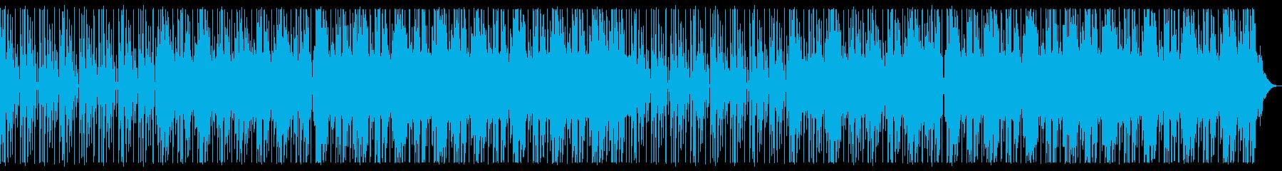 寂しげなR&Bの再生済みの波形