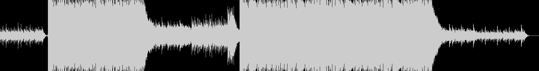 オーケストラ クワイヤー パレードの未再生の波形