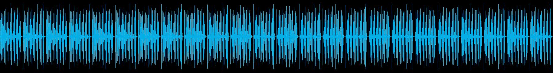 明るくおバカで気の抜けたループ曲の再生済みの波形