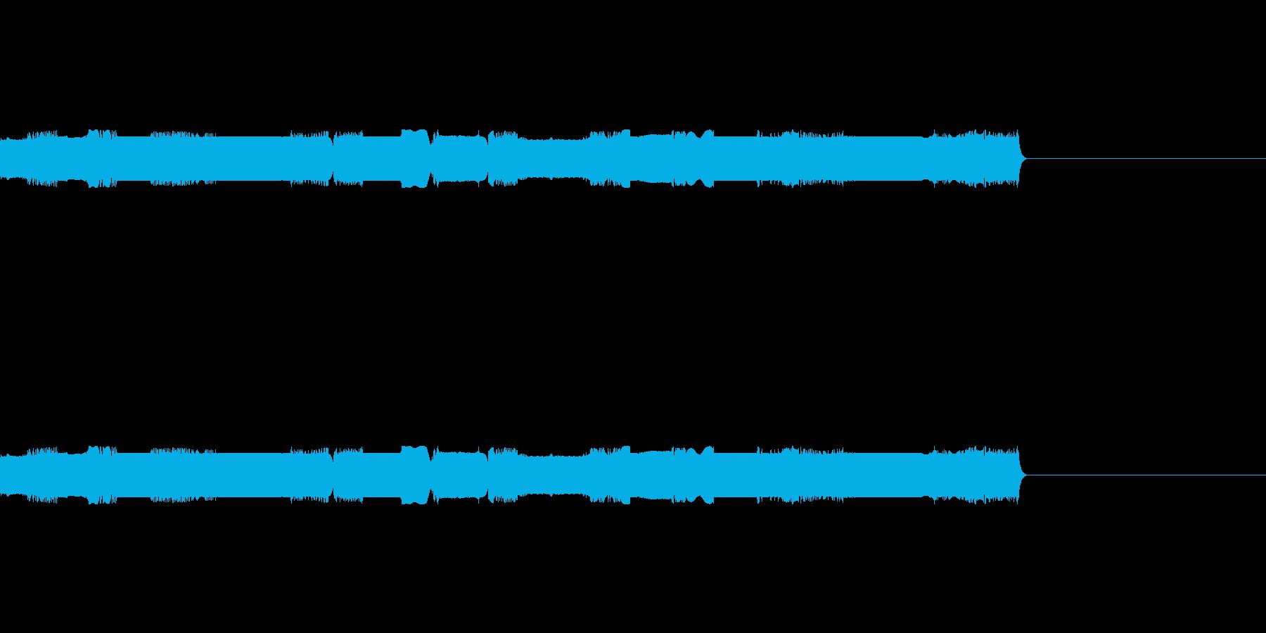 R2風ロボットボイスD2の再生済みの波形