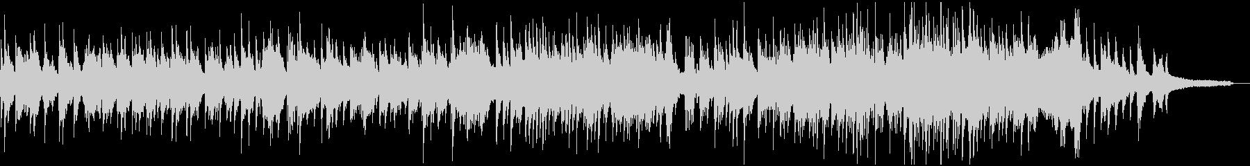 ゆったりとしたピアノソロ4分弱の未再生の波形