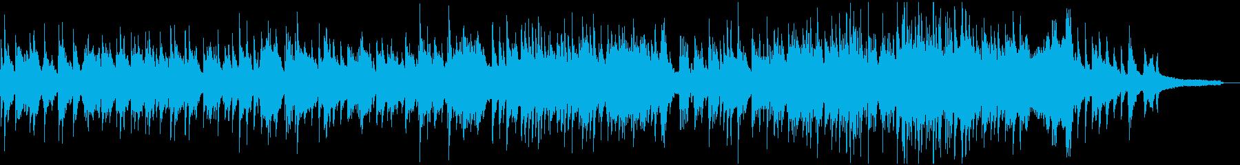 ゆったりとしたピアノソロ4分弱の再生済みの波形