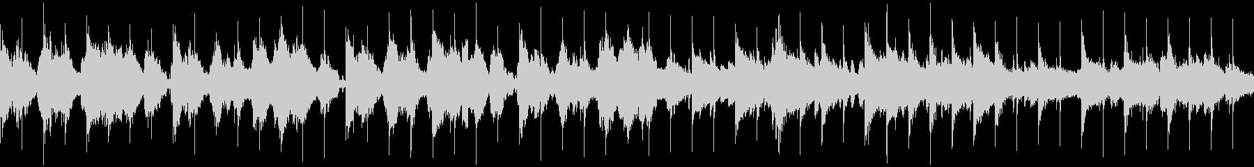 古代遺跡をイメージしたケルト調の民族音楽の未再生の波形