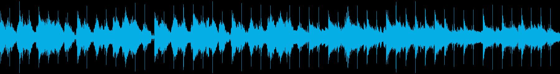 古代遺跡をイメージしたケルト調の民族音楽の再生済みの波形