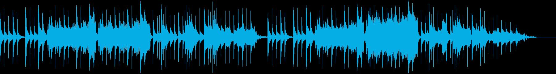 どうぶつの森風 雨の日に合いそうなBGMの再生済みの波形