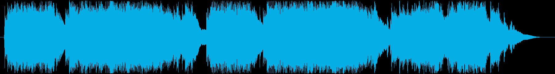 哀愁のワルツの再生済みの波形