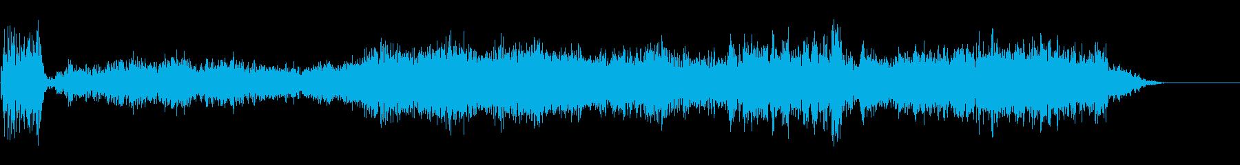 ランブル4の再生済みの波形