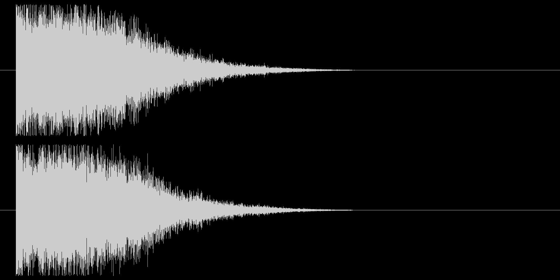 インパクト_氷結の未再生の波形
