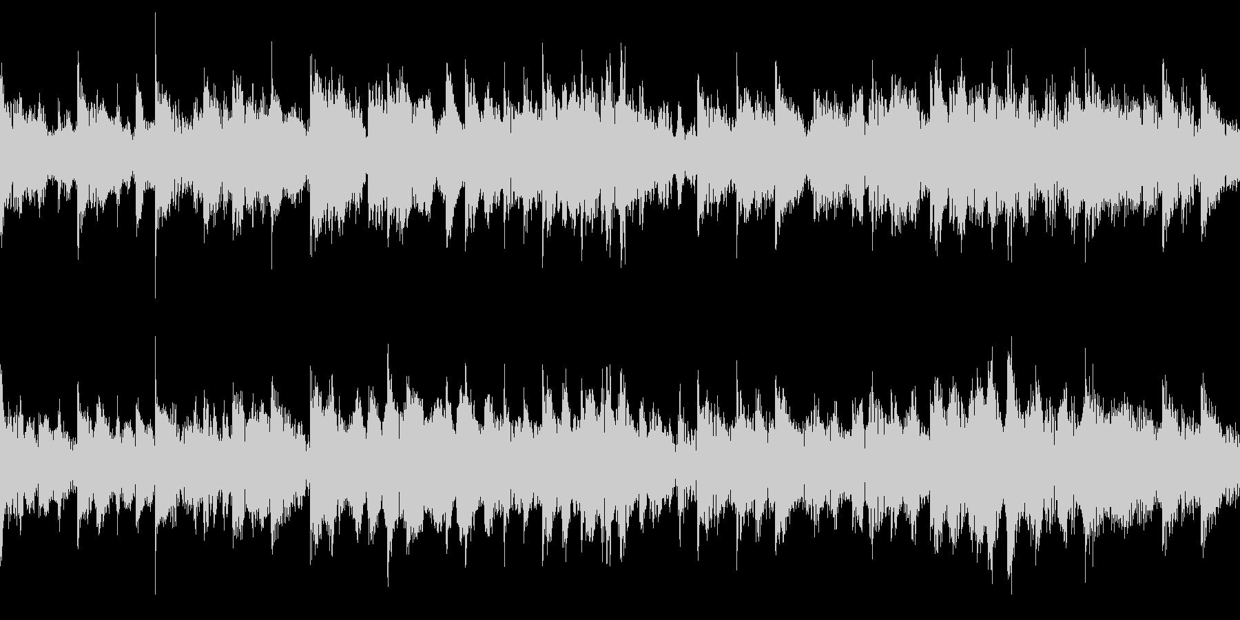 和風のジングル(ループ仕様)2の未再生の波形