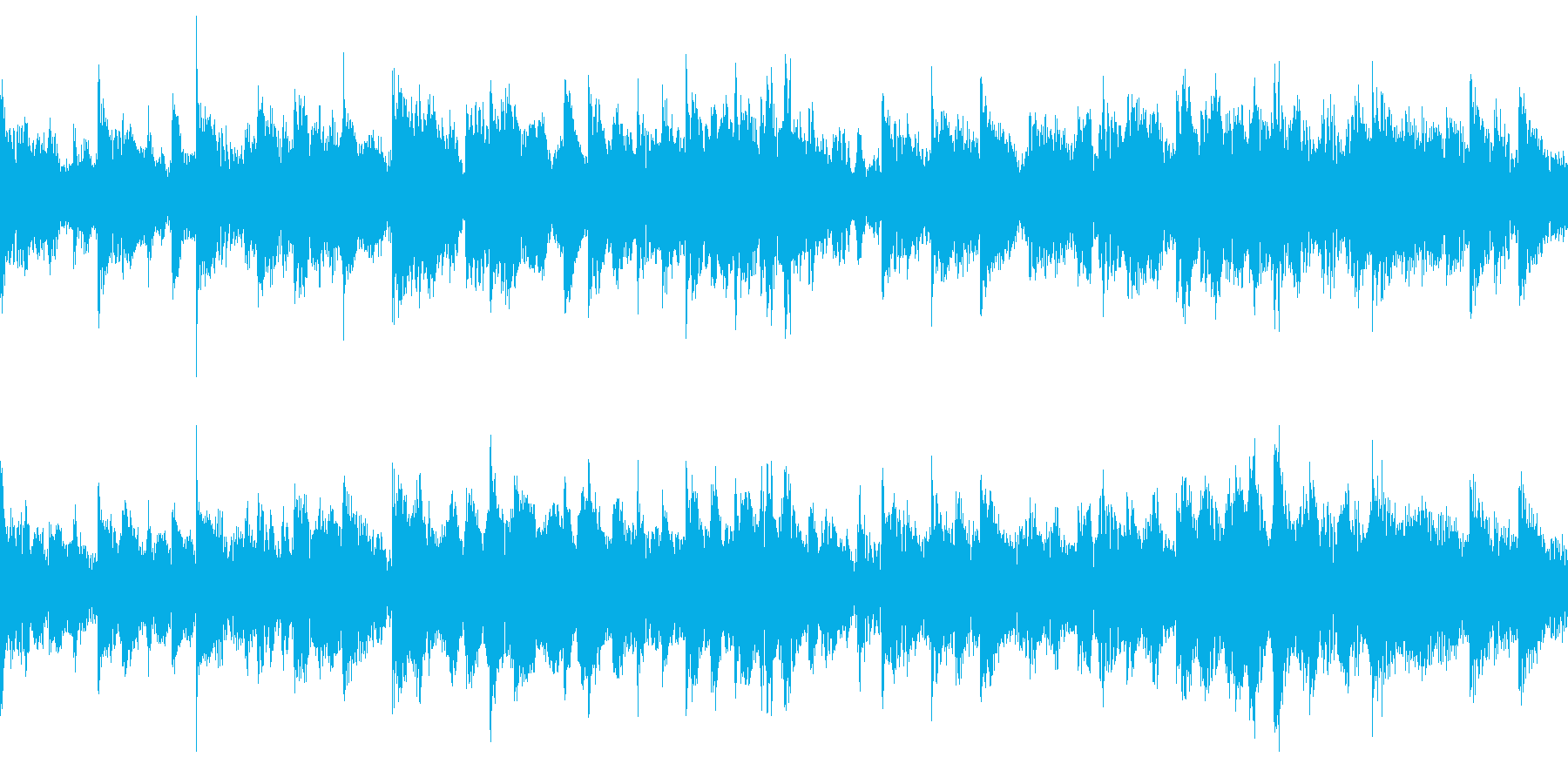 和風のジングル(ループ仕様)2の再生済みの波形