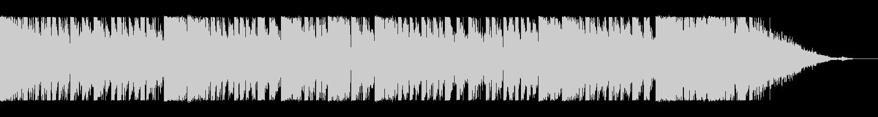 和風なジングル3 琴と和太鼓 EDMの未再生の波形
