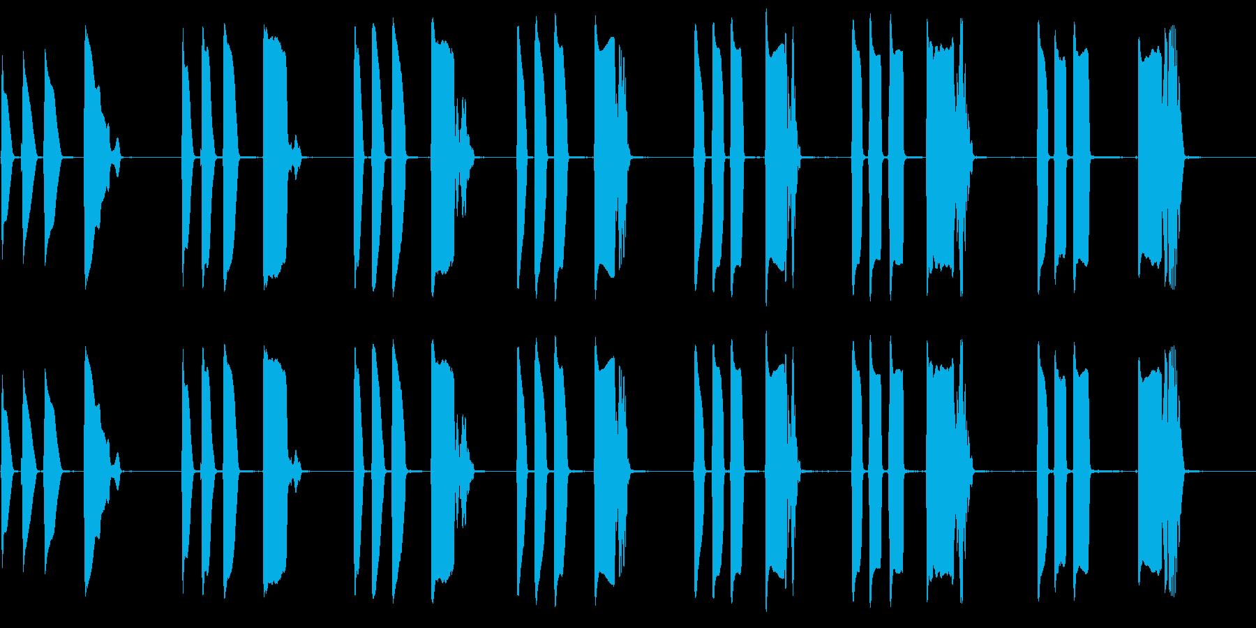 トランペット:ウォークアップアクセ...の再生済みの波形