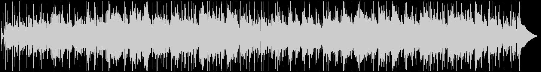 アルトサックスとピアノ中心の艶やかBGMの未再生の波形