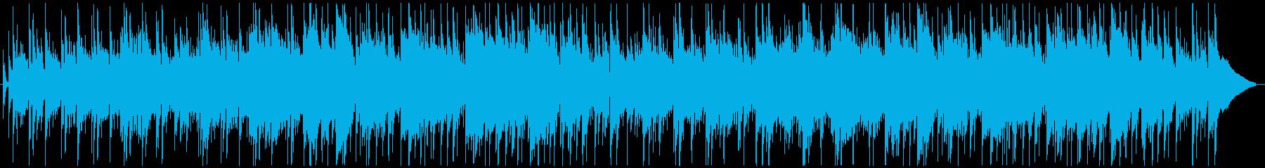 アルトサックスとピアノ中心の艶やかBGMの再生済みの波形