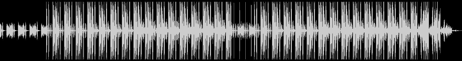 レトロ 切ない ヒップホップ ビートの未再生の波形