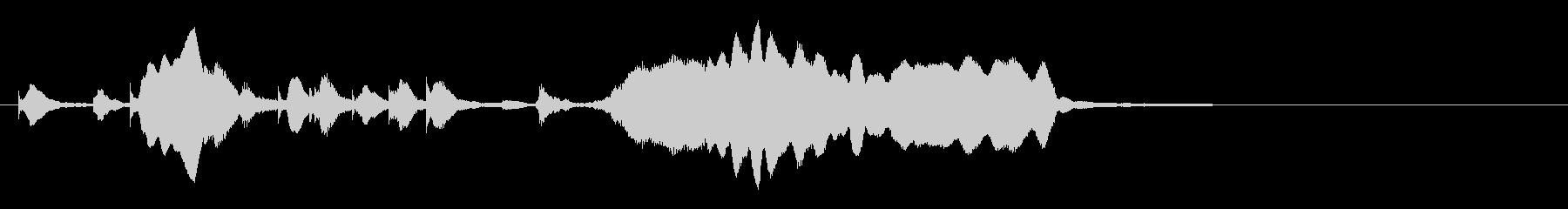 のほほんジングル022_ほのぼの+3の未再生の波形
