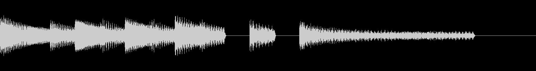 ファミコン ゲームオーバーの未再生の波形