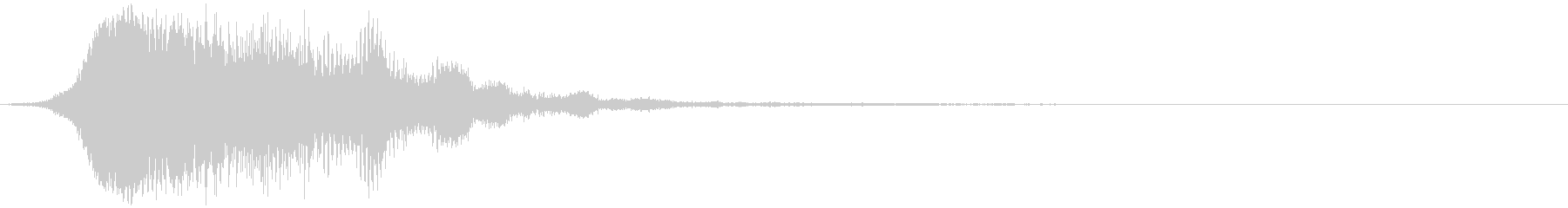 【ホラー】SFX_22 奇妙な音の未再生の波形