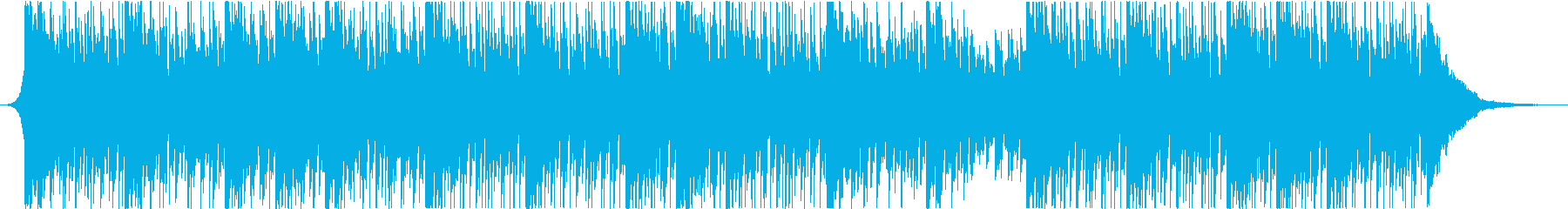 最小限のポップドラムグルーブの再生済みの波形