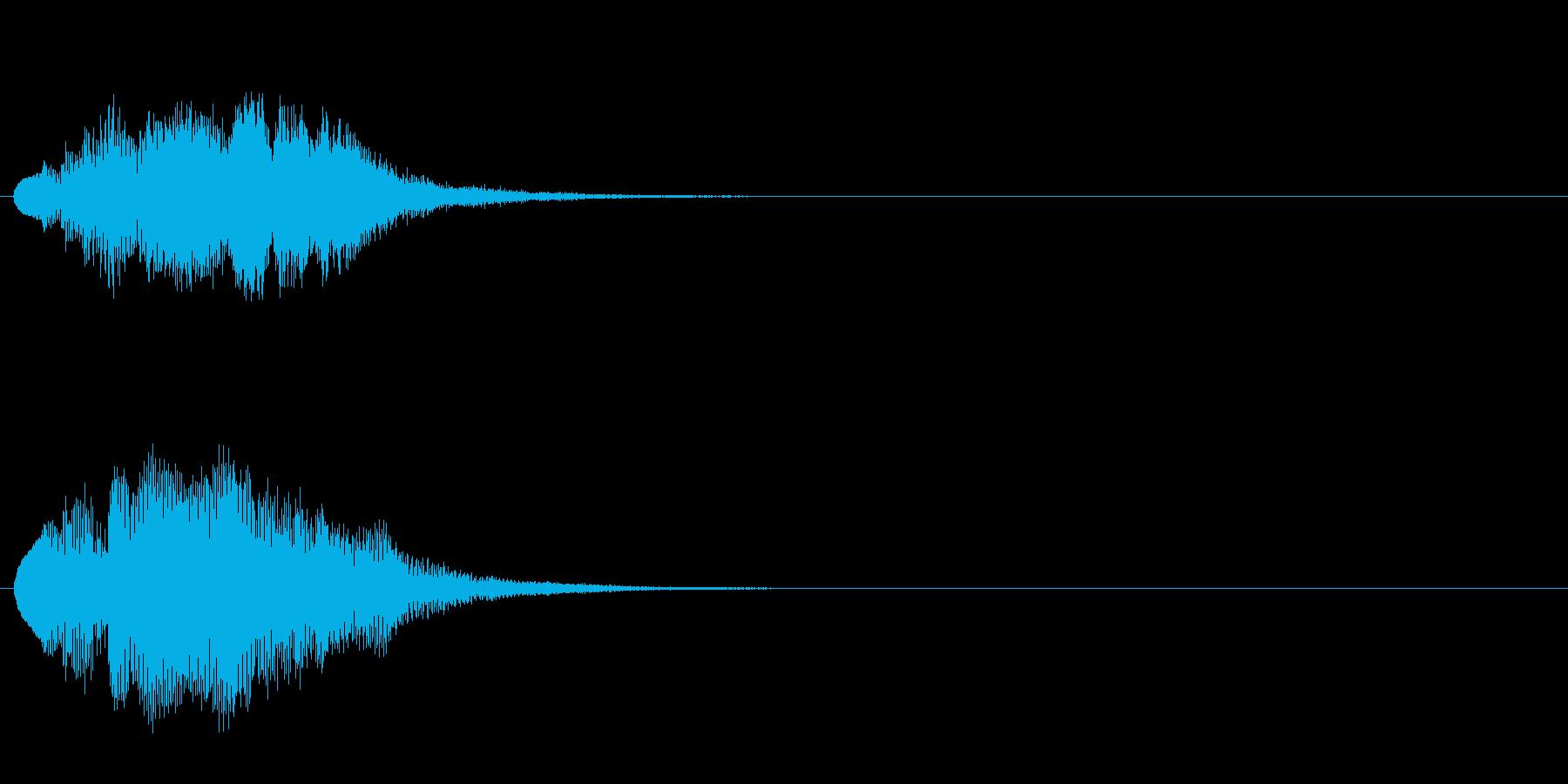 ハープ・上昇_7-3の再生済みの波形
