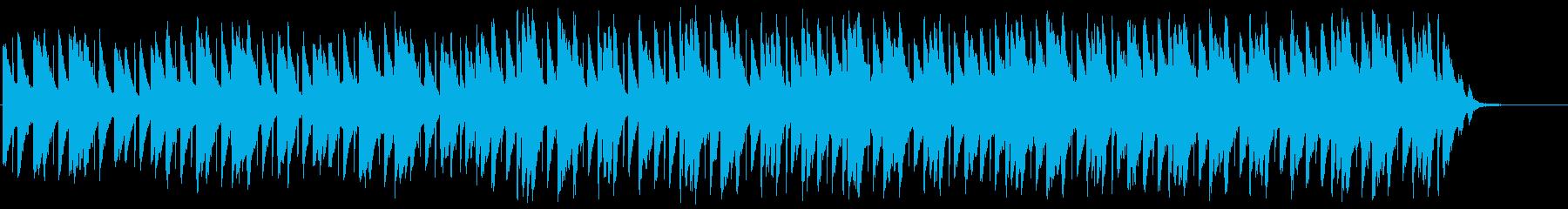 シネマティック、チルアウト、ヒーリングの再生済みの波形