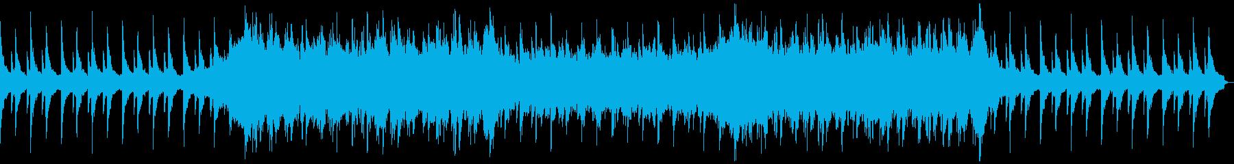 ピアノメインの感動的な場面で使えるBGMの再生済みの波形