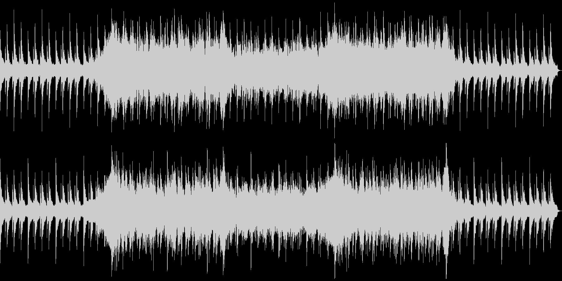 ピアノメインの感動的な場面で使えるBGMの未再生の波形