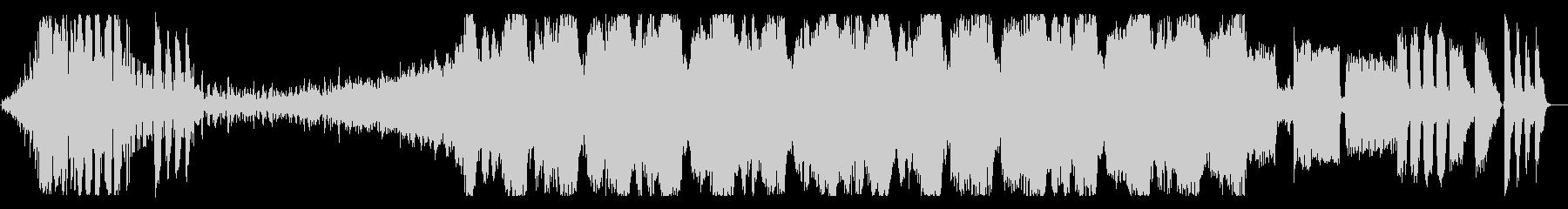 エキサイティングなEDMオープニングの未再生の波形