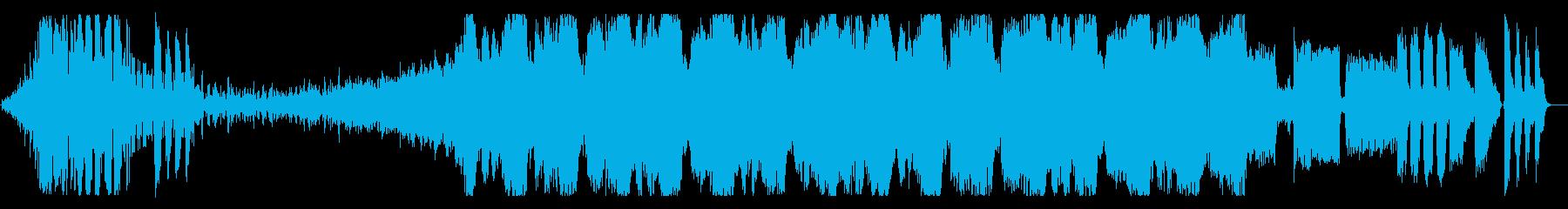 エキサイティングなEDMオープニングの再生済みの波形