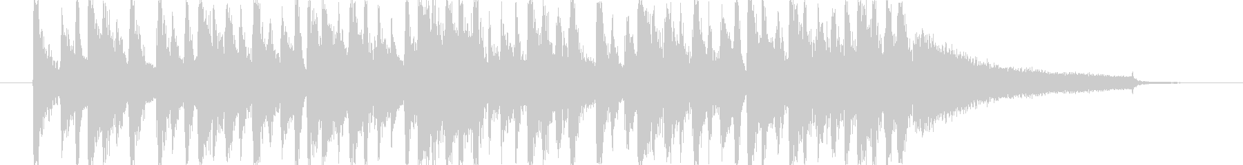 お洒落な感じのCMを想定した楽曲です。の未再生の波形