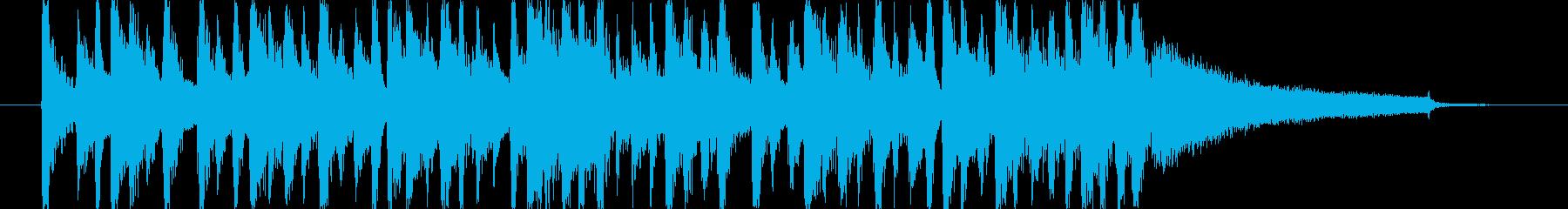 お洒落な感じのCMを想定した楽曲です。の再生済みの波形