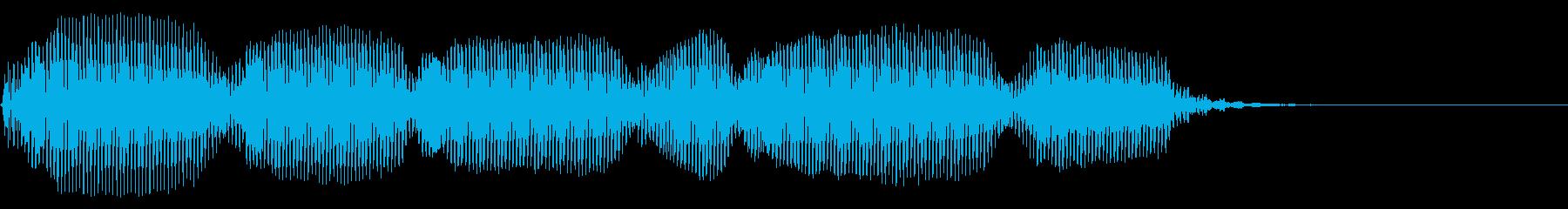 陽気 トランペット フラッターの再生済みの波形