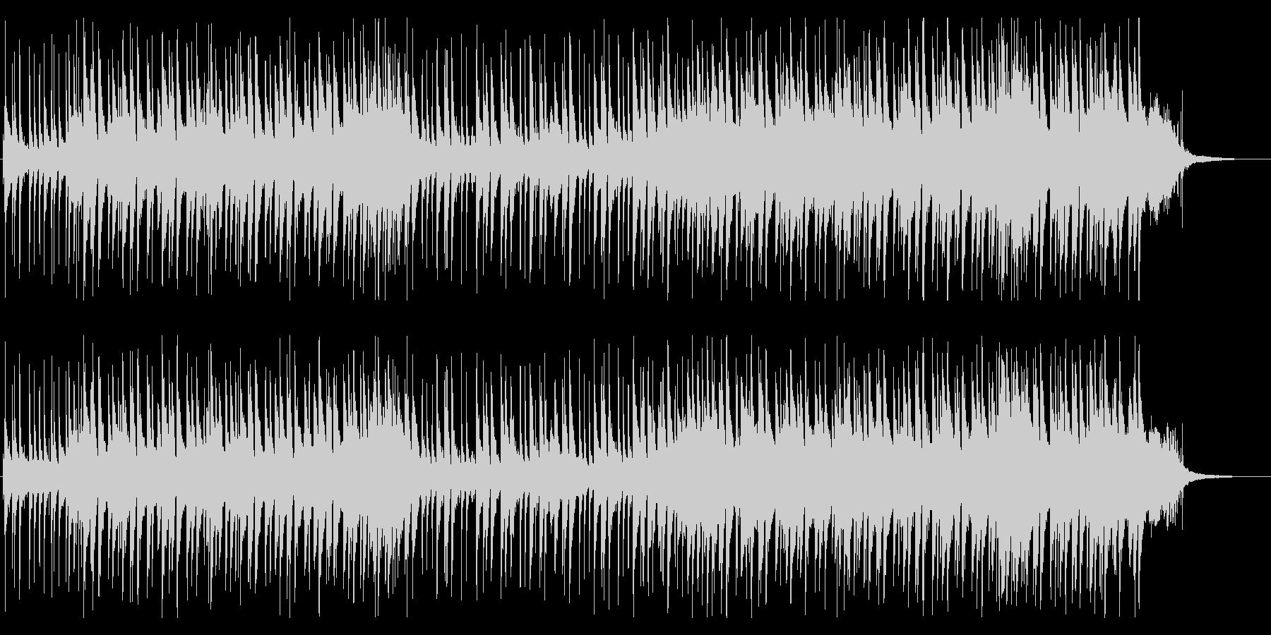 ピアノトリオの現代的なロックバラードの未再生の波形