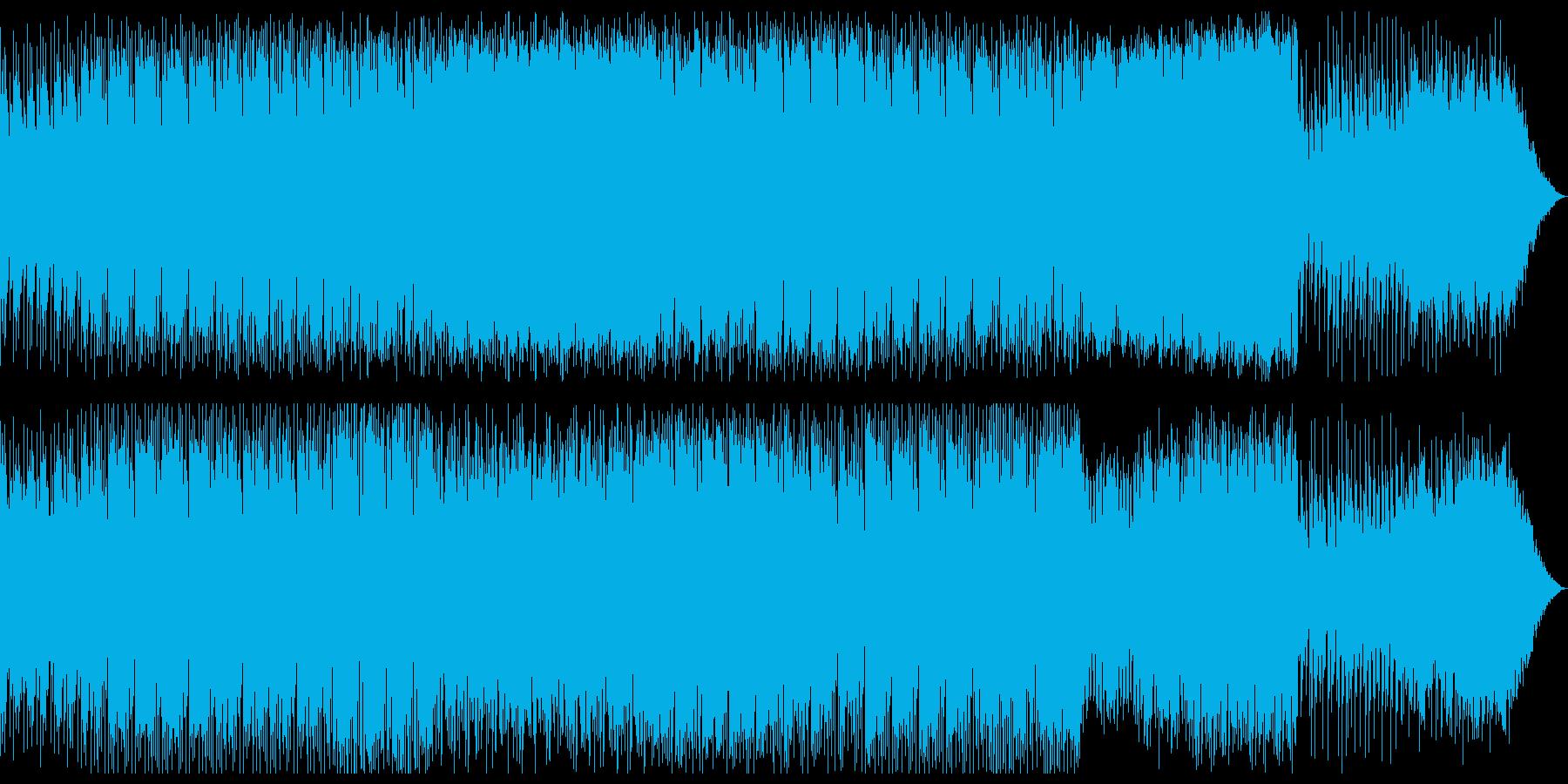 オシャレなEDMです。の再生済みの波形