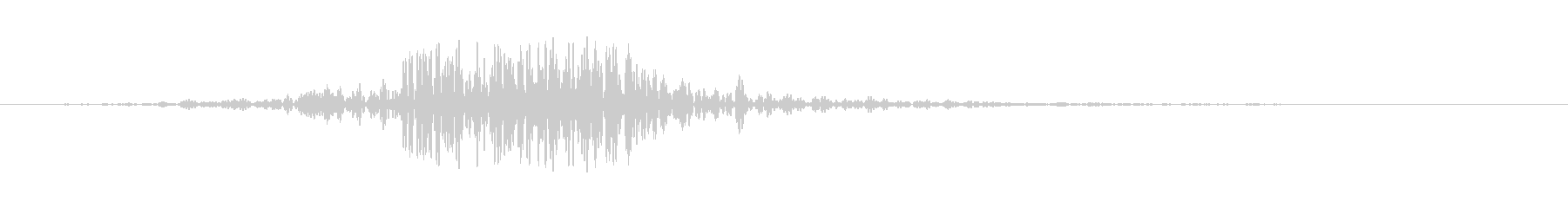 振動エンハンサーの未再生の波形