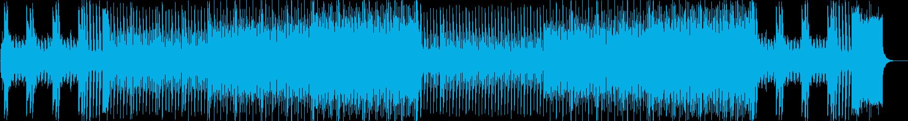 ピアノイントロ、キラキラしたJPOP風cの再生済みの波形