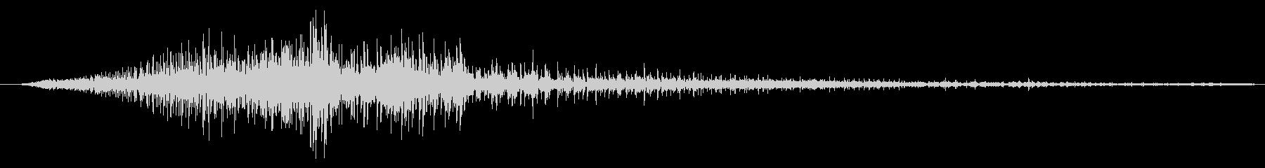 ヘルハウンド arのうなり声02の未再生の波形