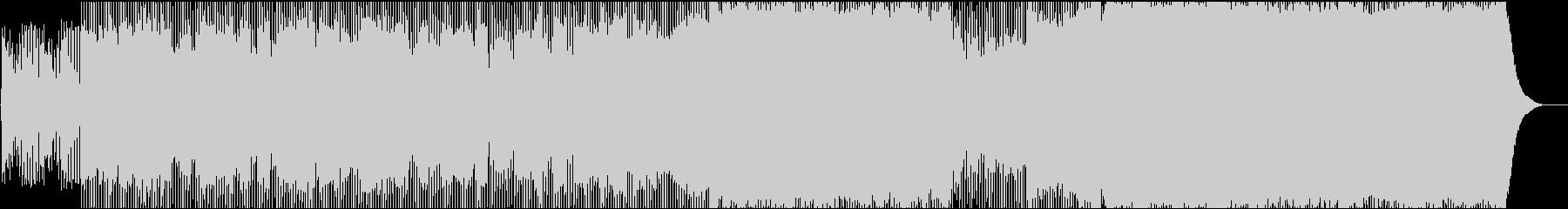 切ない4つ打ち系テクノポップの未再生の波形