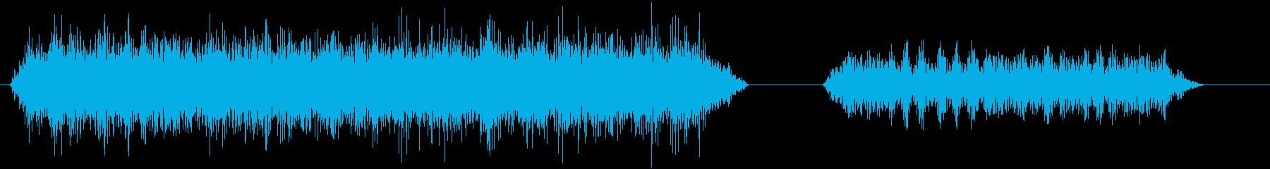 マシンハイドロモーター_ランニング...の再生済みの波形