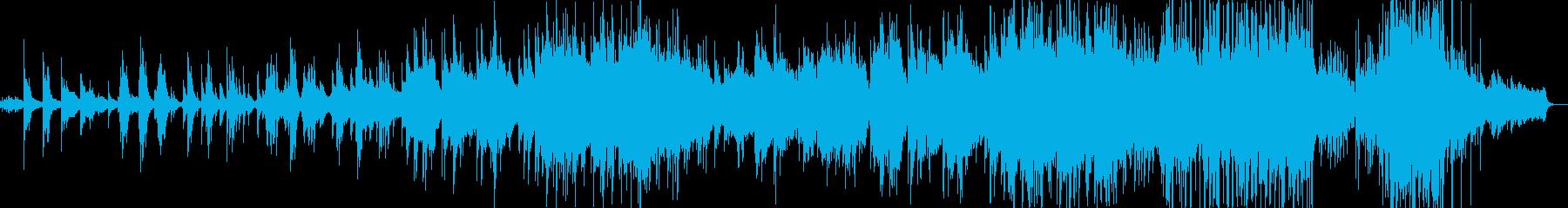 物悲しい雰囲気のバラード5の再生済みの波形