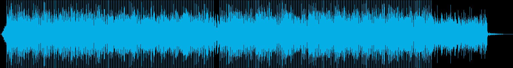 インディーズ ロック 移動 エレキ...の再生済みの波形