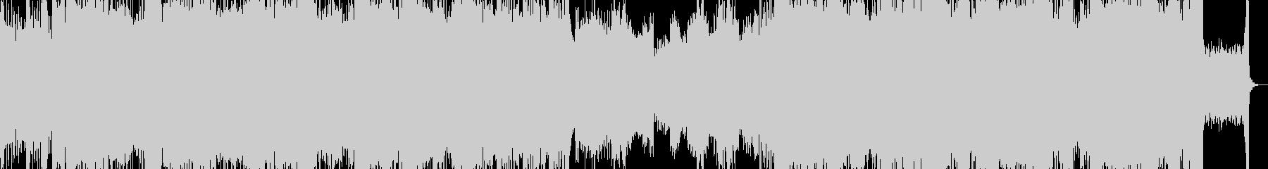 ロック コーラスの未再生の波形