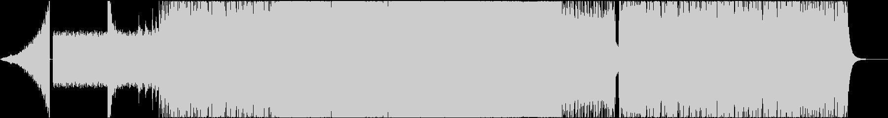 ロック系 攻撃的なファンクロック!②の未再生の波形