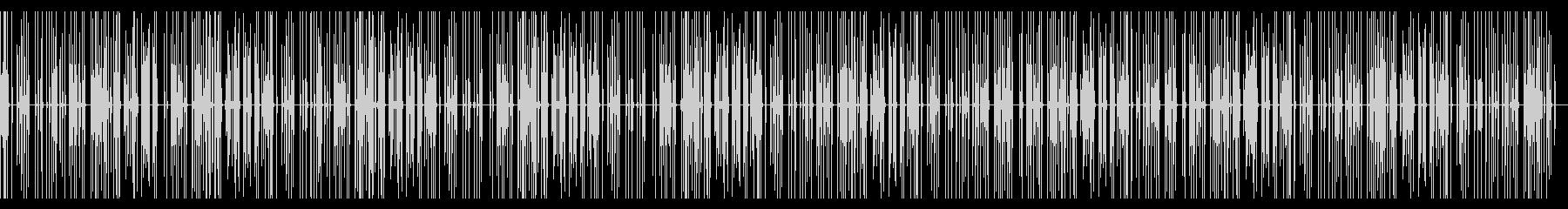 キーボード_タイピング音の未再生の波形