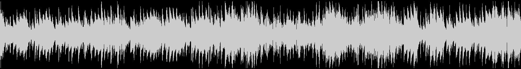 スパイ、ハードボイルド系ジャズ※ループ版の未再生の波形