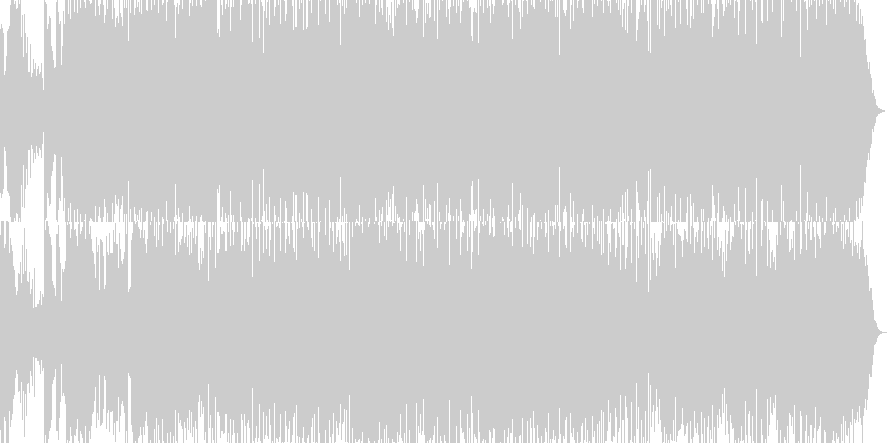 動画 サスペンス 魔法 技術的な ...の未再生の波形