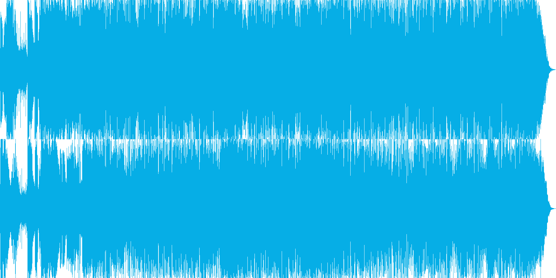 動画 サスペンス 魔法 技術的な ...の再生済みの波形