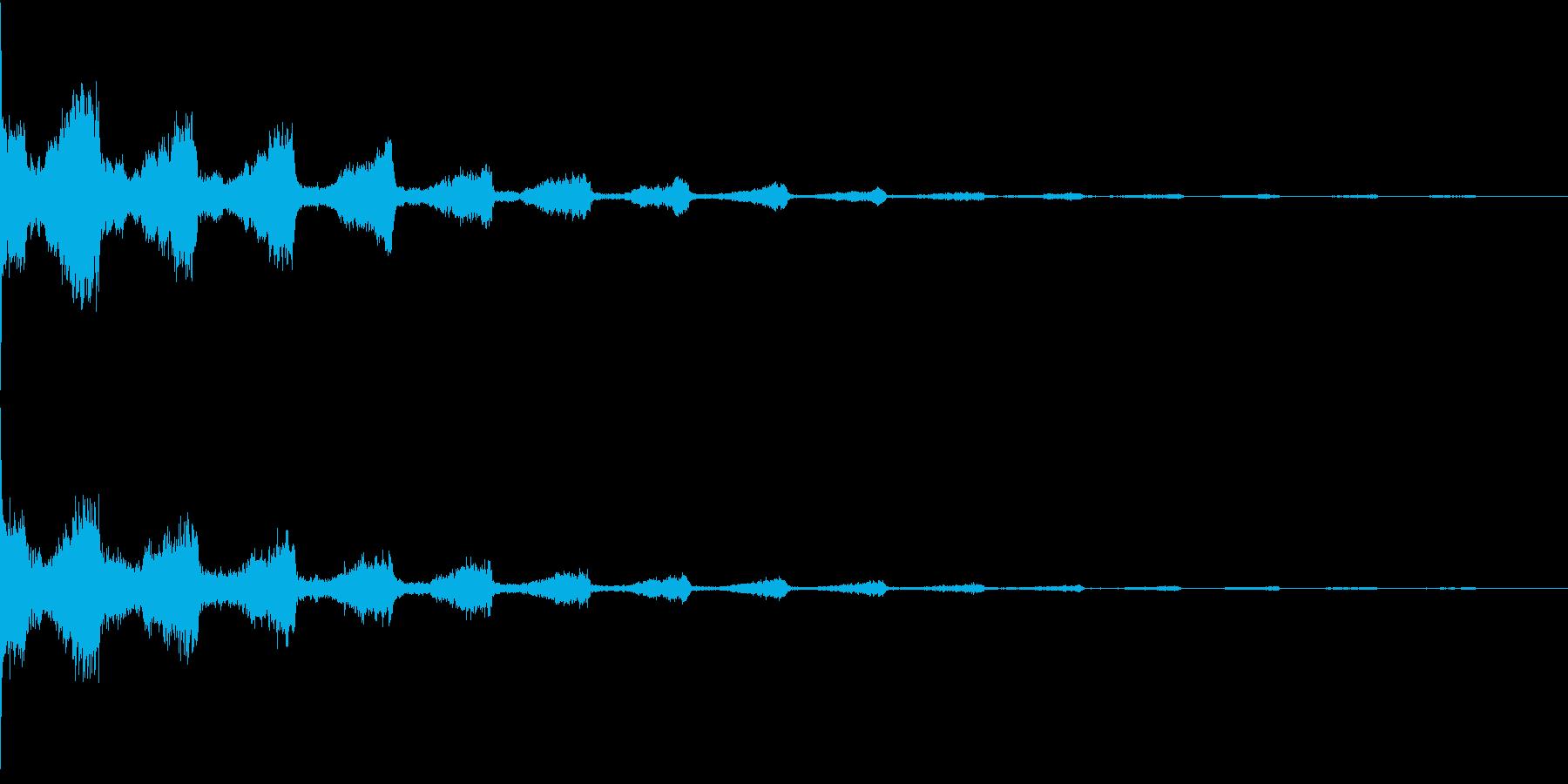 EDM コードインパクト 音楽制作用の再生済みの波形