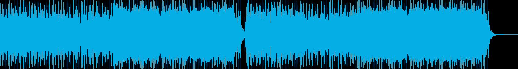 感動のラストバトル曲の再生済みの波形