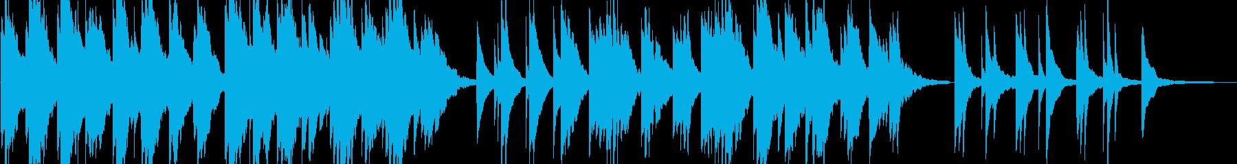 企業VP15 24bit44kHzVerの再生済みの波形